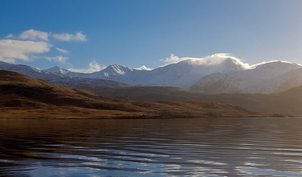 Ben Cruachan in the winter sunshine