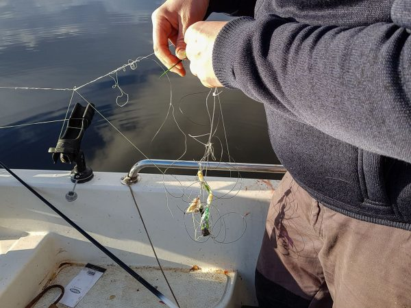 Tangles - the less glamorous side of fishing!