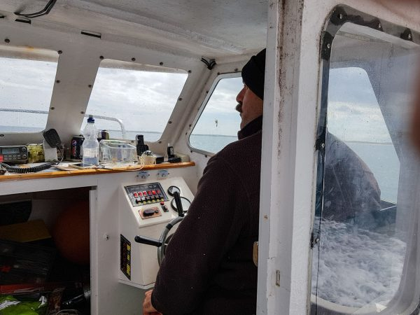 Trev Icelander 18 has a cosy cabin - perfect for winter fishing