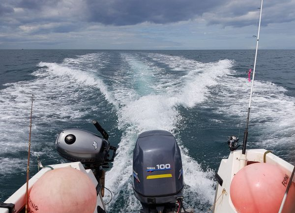 Trev's Icelander 18 can show a good turn of speed on a calm sea