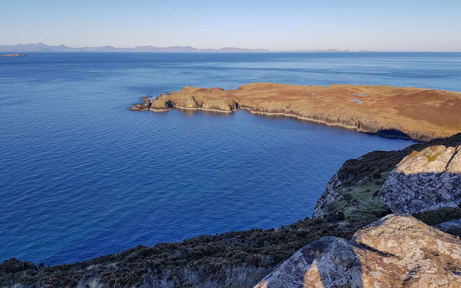 The northernmost tip of Skye, Rubha Hunish
