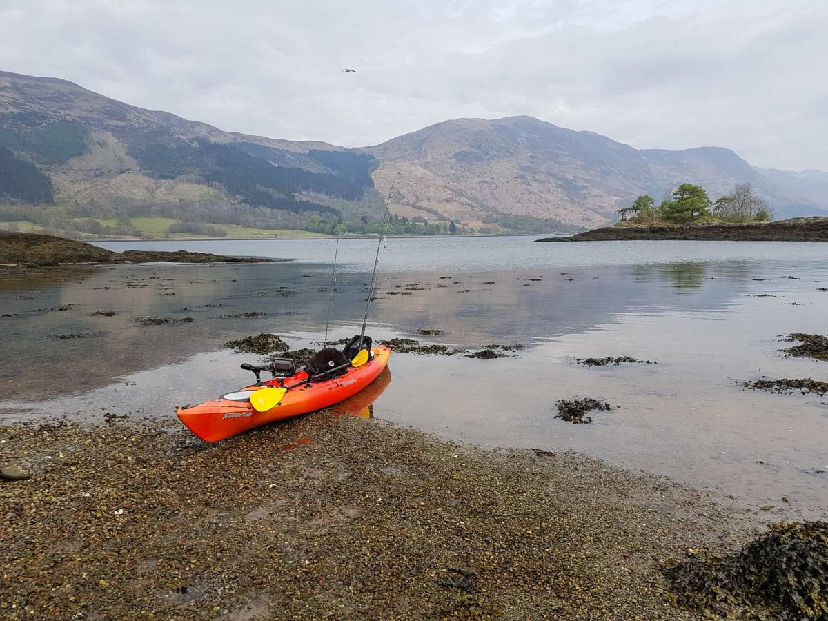 Pulled ashore for a coffee on the islands near Ballachulish, Loch Leven