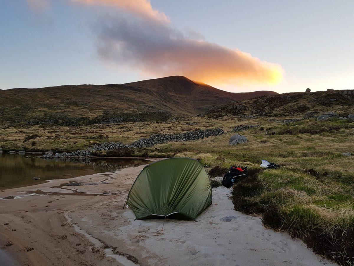 Wild Camp in Galloway