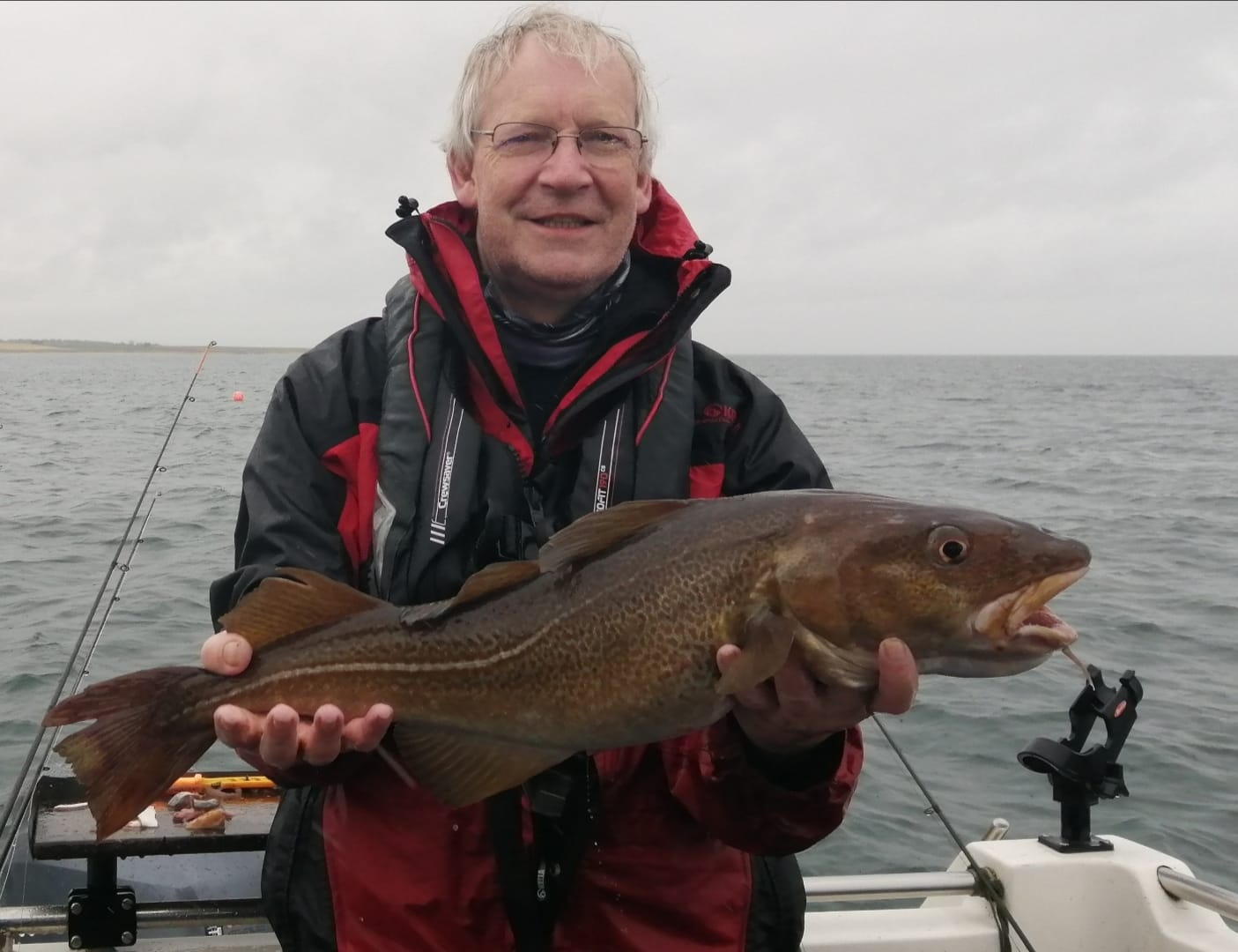 A nice St. Andrews cod, making 7lbs 4oz